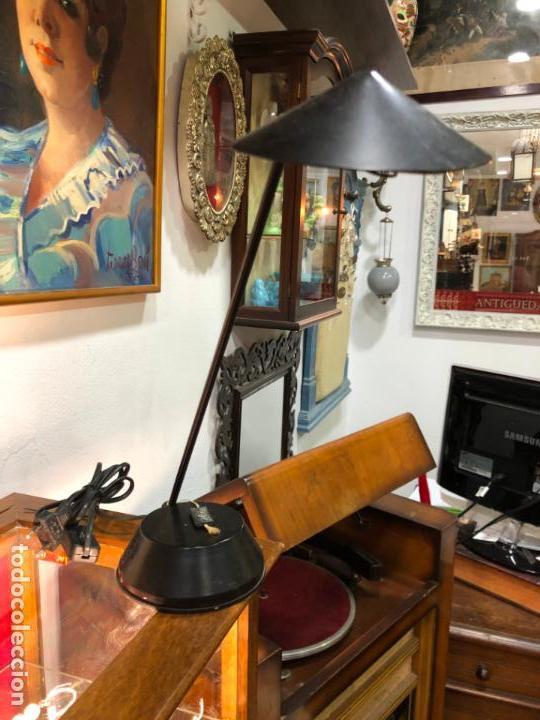 LAMPARA FASE DE ESTUDIO - MEDIDA 36X30 CM (Vintage - Lámparas, Apliques, Candelabros y Faroles)