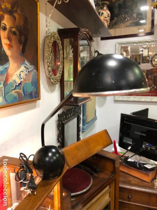 Vintage: PRECIOSA LAMPARA FASE DE ESTUDIO - MEDIDA 60X38 CM - Foto 4 - 144863134