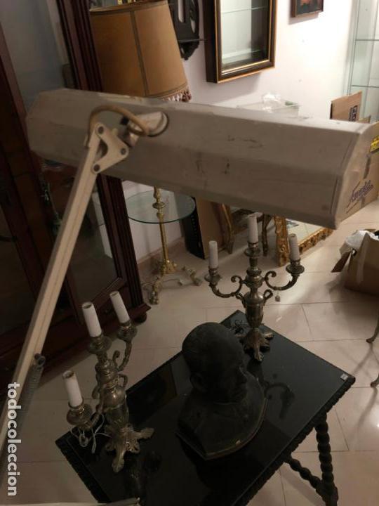 Vintage: GRAN LAMPARA FLEXO DE MESA AÑOS 60/70 - MEDIDA 110X47 CM - VINTAGE - Foto 5 - 144902366