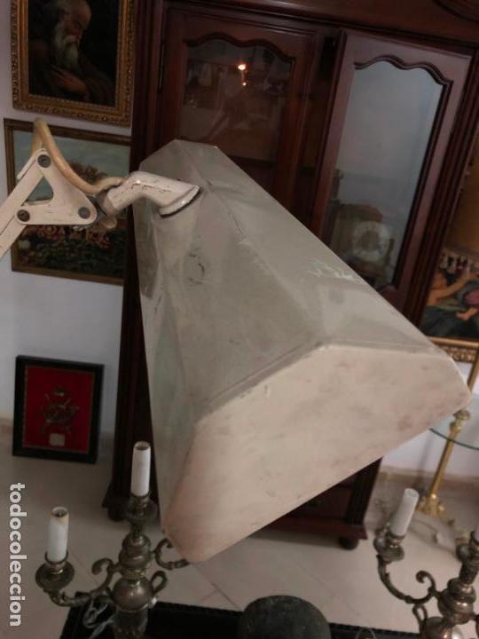Vintage: GRAN LAMPARA FLEXO DE MESA AÑOS 60/70 - MEDIDA 110X47 CM - VINTAGE - Foto 6 - 144902366