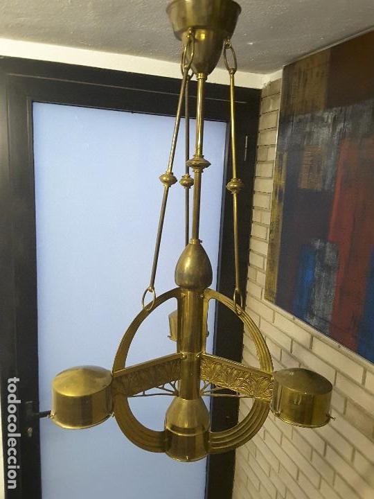 Vintage: Lámpara art deco. - Foto 6 - 145200510