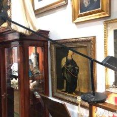 Vintage: ANTIGUA LAMPARA FASE DE ESTUDIO CON CONTRAPESO - MEDIDA TOTAL ABIERTA 1M. - VINTAGE. Lote 145331642