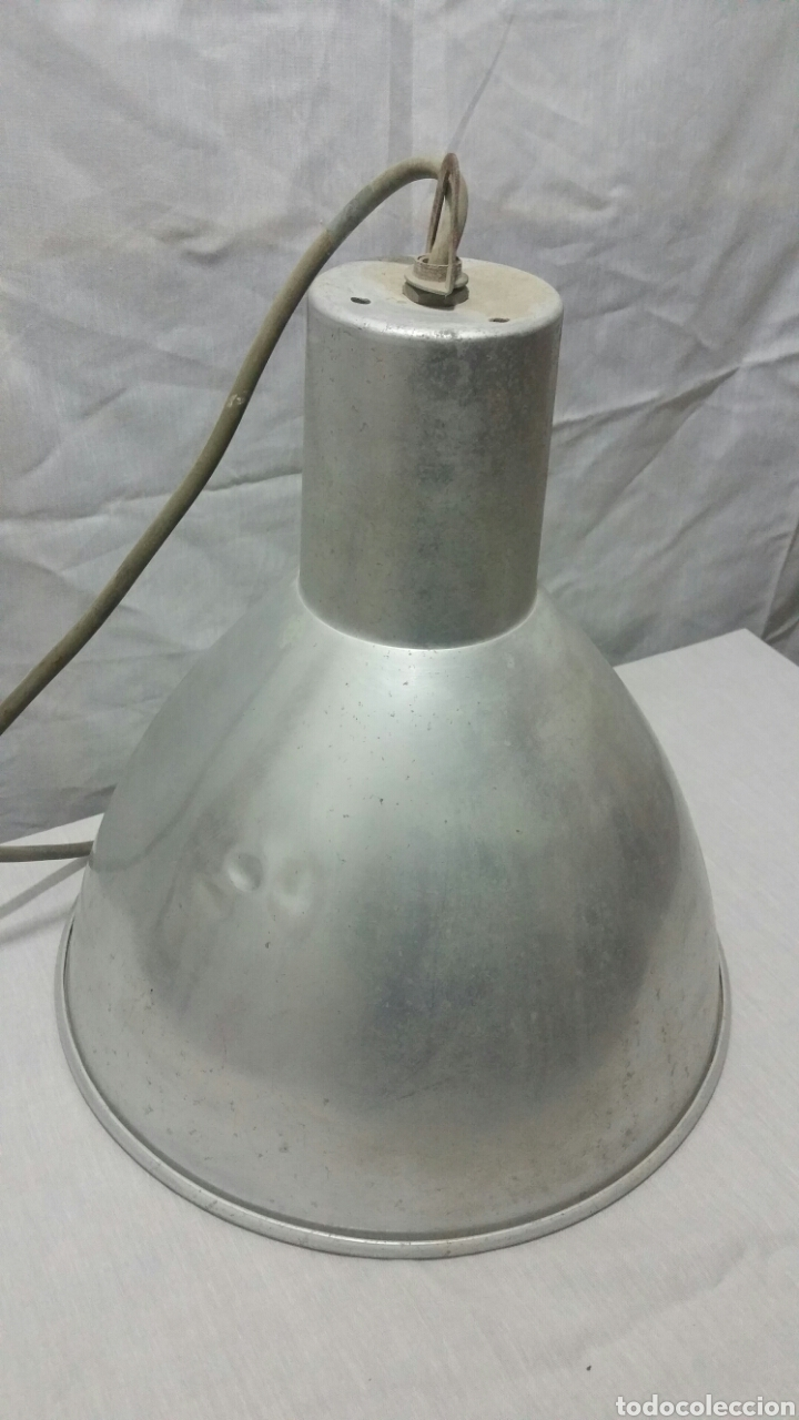 Vintage: Focos gran medida de techo industriales de aluminio - Foto 5 - 146459961