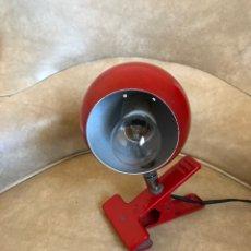 Vintage: LAMPARA CON PINZA. VINTAGE. AÑOS 70-80. Lote 146878373