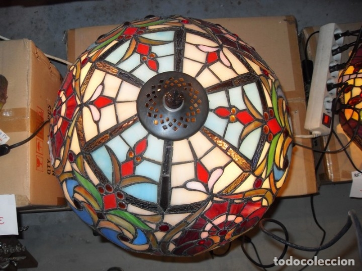 Vintage: Lámpara de techo estilo Tiffany - Foto 2 - 50595558