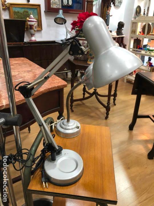 LAMPARA DE ESTUDIO VINTAGE (Vintage - Lámparas, Apliques, Candelabros y Faroles)