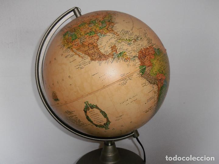 Vintage: Bola mundo globo terraqueo Nova Rico lampara - Foto 2 - 147049634