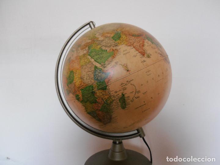 Vintage: Bola mundo globo terraqueo Nova Rico lampara - Foto 3 - 147049634