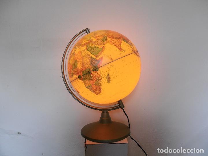 Vintage: Bola mundo globo terraqueo Nova Rico lampara - Foto 5 - 147049634