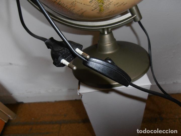 Vintage: Bola mundo globo terraqueo Nova Rico lampara - Foto 7 - 147049634