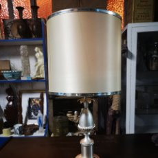Vintage: LAMPARA DE SOBREMESA, 53CM DE ALTURA TOTAL, VINTAGE.. Lote 147067037