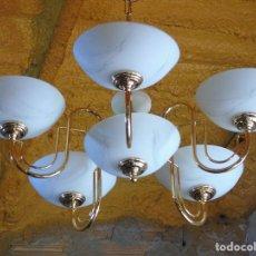 Vintage: LAMPARA VINTAGE. 5 BRAZOS. . Lote 147384306