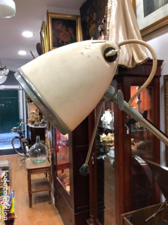 Vintage: LAMPARA DE PIE DE MEDICINA MEDICO - VINTAGE - Foto 2 - 158370157
