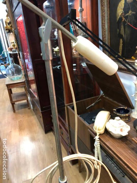 Vintage: LAMPARA DE PIE DE MEDICINA MEDICO - VINTAGE - Foto 3 - 158370157