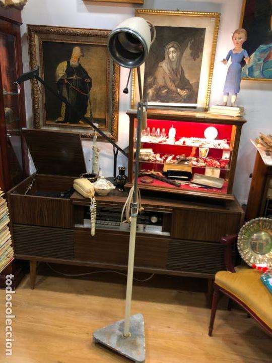 Vintage: LAMPARA DE PIE DE MEDICINA MEDICO - VINTAGE - Foto 7 - 158370157