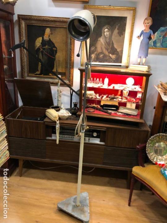 Vintage: LAMPARA DE PIE DE MEDICINA MEDICO - VINTAGE - Foto 8 - 158370157