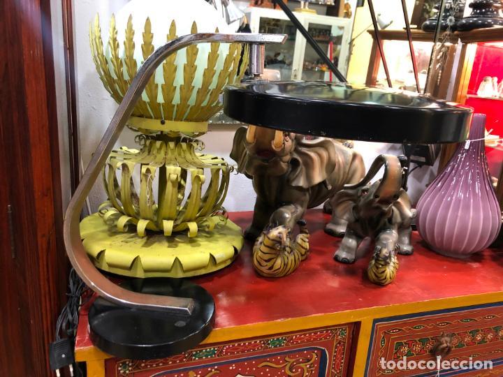 ANTIGUA LAMPARA FASE DE ESTUDIO - VINTAGE (Vintage - Lámparas, Apliques, Candelabros y Faroles)