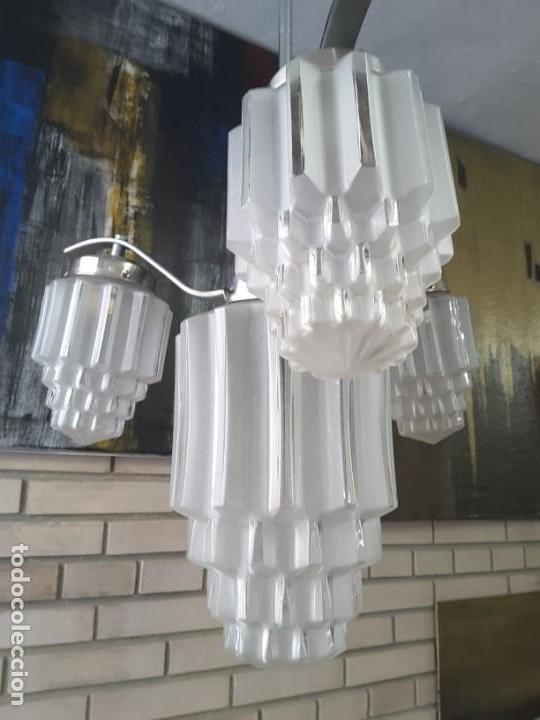 Vintage: Lámpara art deco. - Foto 2 - 148314286