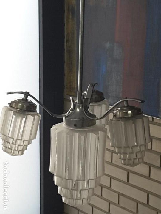 Vintage: Lámpara art deco. - Foto 4 - 148314286