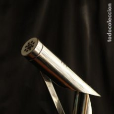 Vintage: LAMPARA VINTAGE FASE THARSIS VINTAGE MODELO RECTO MUY RARO METAL CROMADO. Lote 148794062