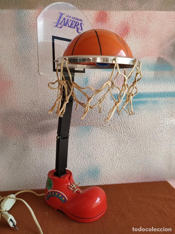 LakersPieza Lámpara mesa rara Angeles de vintageLos q3Aj4RL5