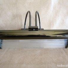 Vintage: LAMPARA DE PARED VINTAGE PARA CUADROS O EXPOSITOR. Lote 43292817
