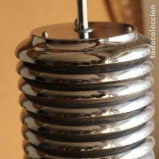 Vintage: LAMPARA DE TECHO EN ALUMINIO ORIGINAL DISEÑO ESTILO KAZUO MOTOZAWA VINTAGE ÈPOCA METALARTE FASE. Lote 150063950