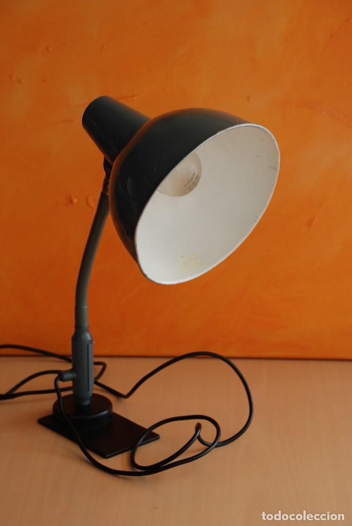 Vintage: Antigua lampara flexo industrial - Foto 3 - 150236602