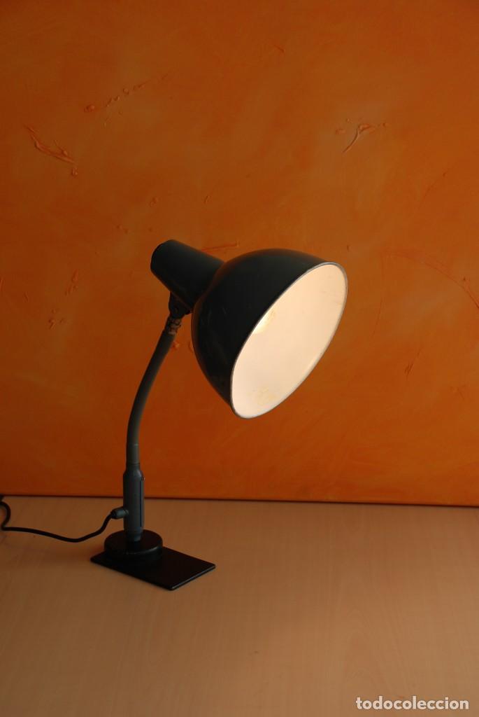 Vintage: Antigua lampara flexo industrial - Foto 4 - 150236602