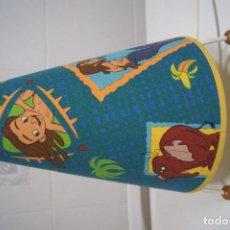 Vintage: LÁMPARA SOBREMESA INFANTIL DE TARZÁN.. Lote 150665598
