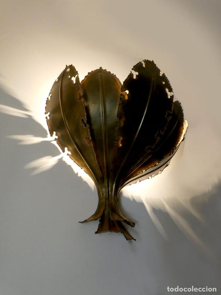 Vintage: Lámpara Aplique de hojas de Svend Aage Holm Sørensen, Dinamarca 1960s - Foto 2 - 150741778
