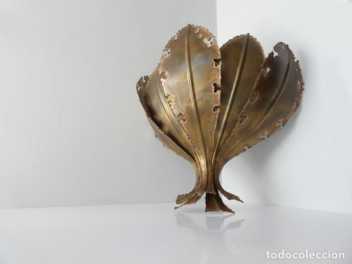 Vintage: Lámpara Aplique de hojas de Svend Aage Holm Sørensen, Dinamarca 1960s - Foto 3 - 150741778