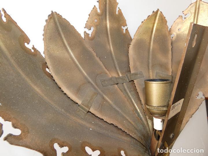 Vintage: Lámpara Aplique de hojas de Svend Aage Holm Sørensen, Dinamarca 1960s - Foto 5 - 150741778