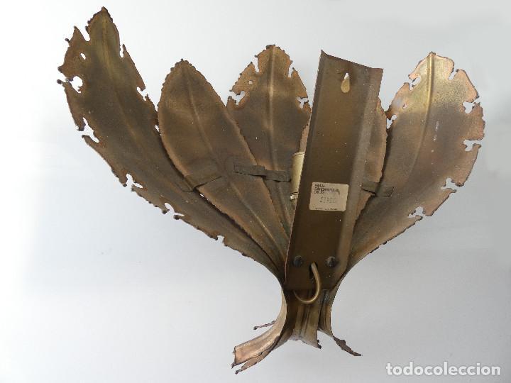 Vintage: Lámpara Aplique de hojas de Svend Aage Holm Sørensen, Dinamarca 1960s - Foto 6 - 150741778