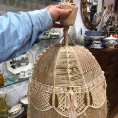 Vintage: PRECIOSA LAMPARA NORDICA CON MEDIDA 62X39 CM - AÑOS 60. Lote 151154470