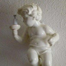 Vintage: GRAN APLIQUE ANGELOTE QUERUBIN CERAMICA HISPANIA MANISES. Lote 151744670