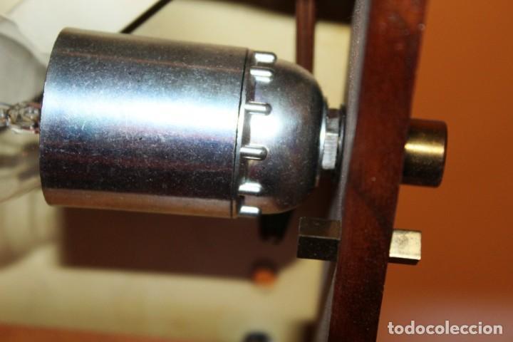 Vintage: Lámpara Nórdica de teca y cristal de murano.Estilo escandinavo. Años 50s. - Foto 11 - 152324518