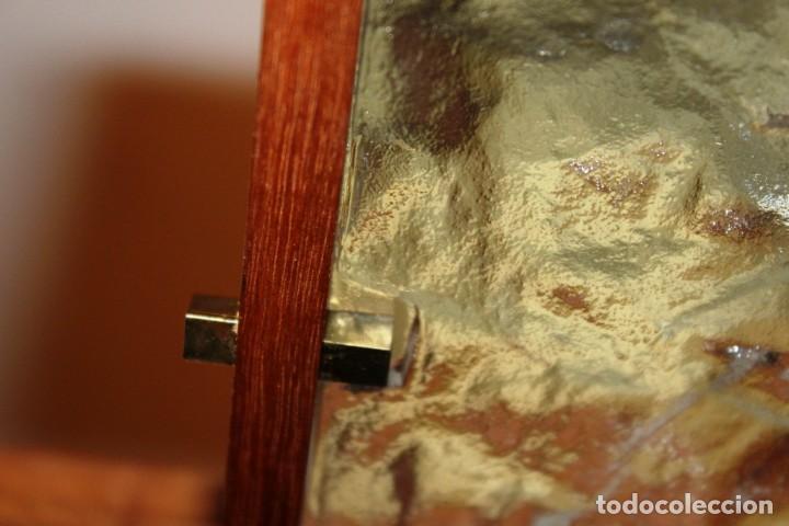 Vintage: Lámpara Nórdica de teca y cristal de murano.Estilo escandinavo. Años 50s. - Foto 29 - 152324518