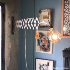 Vintage: LAMPARA INDUSTRIAL FLEXO. Lote 152565673