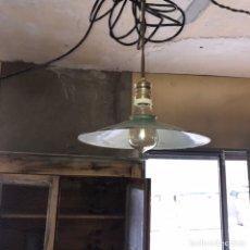 Vintage: LAMPARA INDUSTRIAL. Lote 152566981