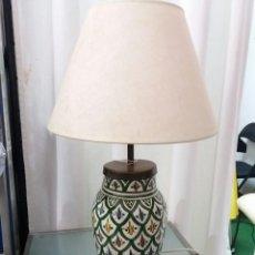 Vintage: LAMPARA SOBREMESA CERAMICA. Lote 152571990