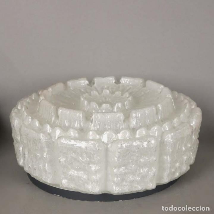 Vintage: Lámpara Vintage de cristalde techo de Limburg. 1960 - 1970 (BRD) - Foto 5 - 152951334