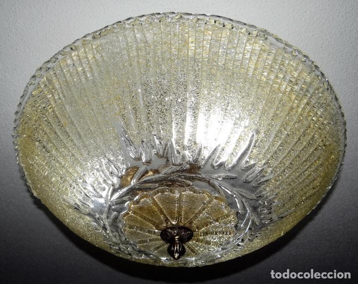 Vintage: LAMPARA CRISTAL MURANO BAROVIER & TOSO. VINTAGE. - Foto 2 - 153464174