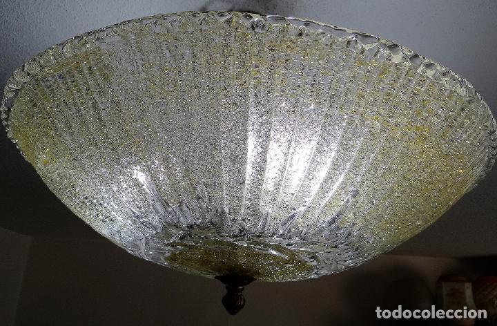 Vintage: LAMPARA CRISTAL MURANO BAROVIER & TOSO. VINTAGE. - Foto 4 - 153464174