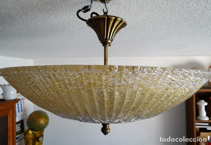 Vintage: LAMPARA CRISTAL MURANO BAROVIER & TOSO. VINTAGE. - Foto 5 - 153464174
