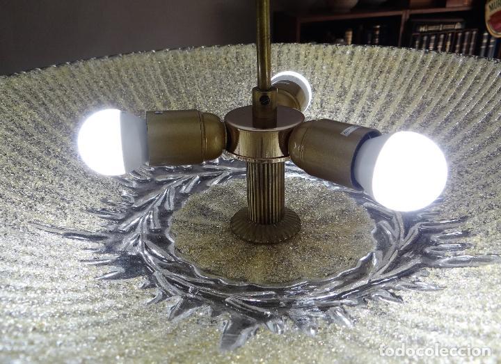 Vintage: LAMPARA CRISTAL MURANO BAROVIER & TOSO. VINTAGE. - Foto 8 - 153464174