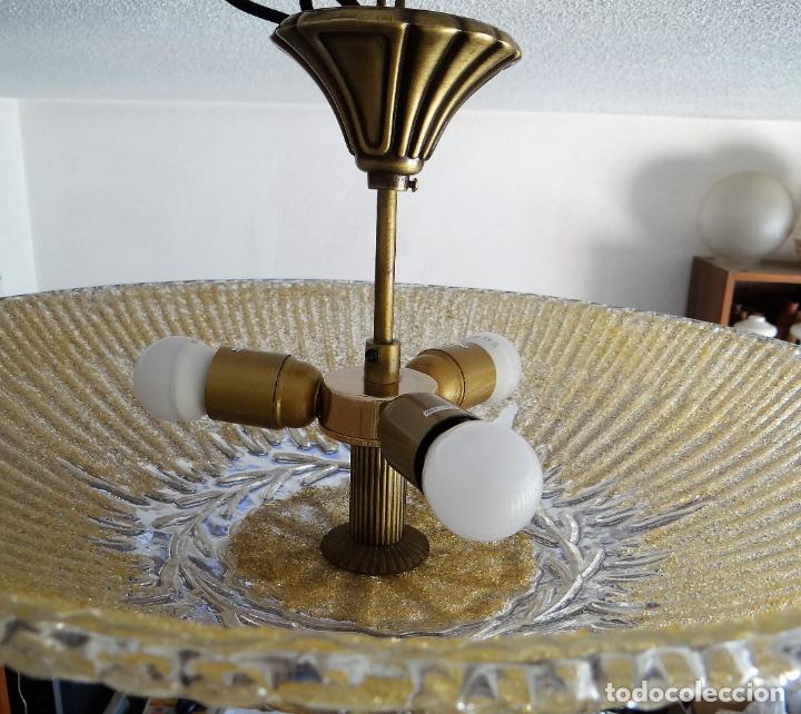 Vintage: LAMPARA CRISTAL MURANO BAROVIER & TOSO. VINTAGE. - Foto 14 - 153464174