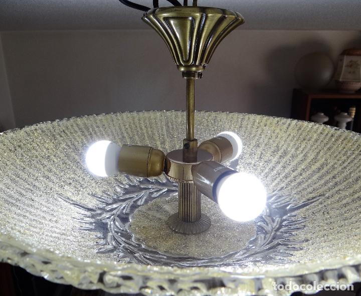 Vintage: LAMPARA CRISTAL MURANO BAROVIER & TOSO. VINTAGE. - Foto 15 - 153464174