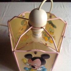 Vintage: LAMPARA DISNEY, MARCA MIRETE. Lote 153482906