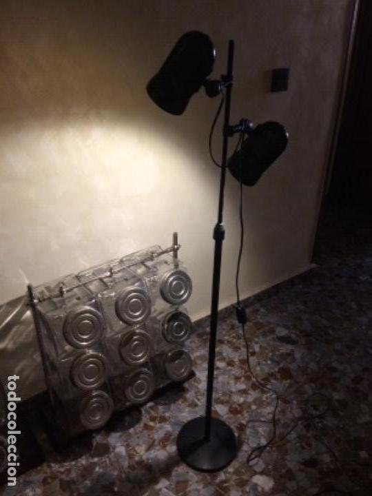 LÁMPARA FASE DE PIE (Vintage - Lámparas, Apliques, Candelabros y Faroles)